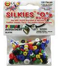 Silkies \u0022O\u0022 Rings 150/Pkg-Assorted