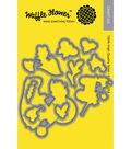 Waffle Flower Die-Happy Day