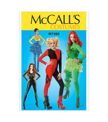 McCall's Pattern M7269-Bodysuits and Ruffled Skirts