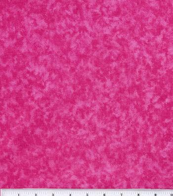 Keepsake Calico Cotton Fabric 44''-Bright Pink Tonal