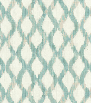 "Kelly Ripa Upholstery Fabric 54""-Floating Trellis Spa"