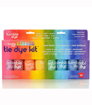 Sei Pack of 8 Tumble Dye Tie Dye Kit-Classic