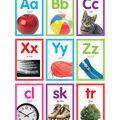 Colorful Photo Alphabet Cards Bulletin Board Set