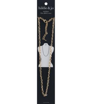 hildie & jo 33'' Necklace-Gold