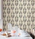 WallPops NuWallpaper Peel & Stick Wallpaper-Folk Tulip