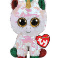 Ty Inc. Christmas Flippables Regular Sequin Stardust Unicorn