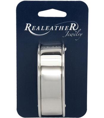 Realeather Crafts Metal Cuff Bracelet