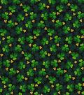 St. Patrick\u0027s Day Cotton Fabric-Shades of Clover Glitter
