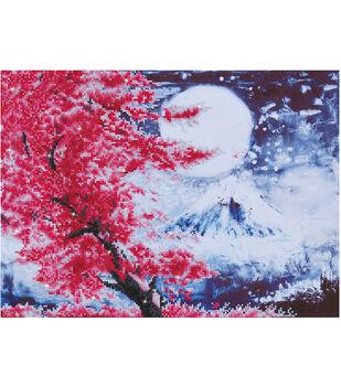 Diamond Dotz Kit-Cherry Blossom Mountain