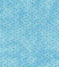 Keepsake Calico Cotton Fabric -Blue Topaz Honeycomb Blender