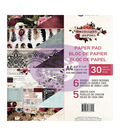Prima Marketing Midnight Garden 30-sheet A4 Double-sided Paper Pad