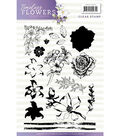 Find It Precious Marieke Timeless Flowers Clear Stamps- Flowers