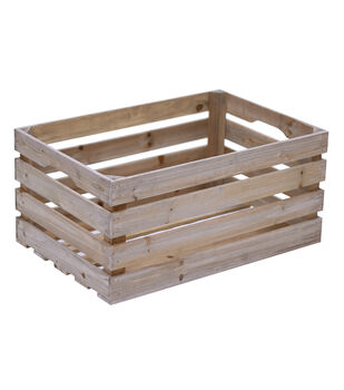 Fab Lab Large Wood Crate
