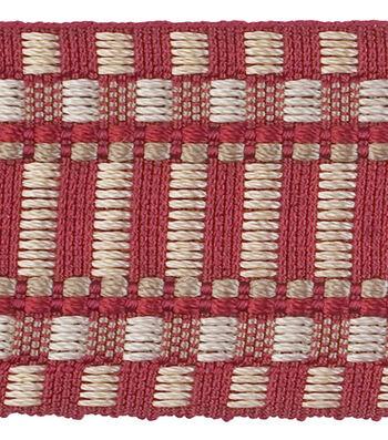 Robert Allen-1 3/4   Classic Braid-Crimson