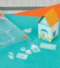 Fiskars Clear Stamps-Tiny Little Home Sweet Home House