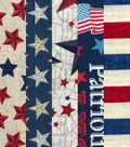 Fat Quarter 5 pk Cotton Fabric Bundle 18\u0027\u0027x21\u0027\u0027-Patriotic Stars