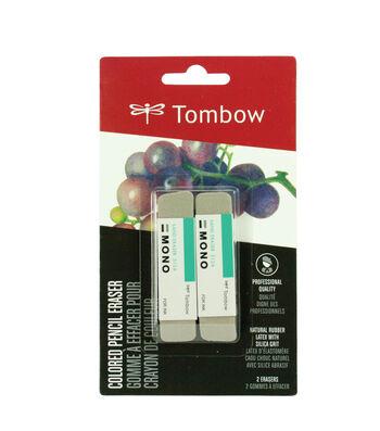 Colored Pencil Eraser 2pk