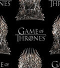 Game of Thrones Cotton Fabric -The Iron Throne