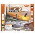 15-3/8\u0022x11-1/4\u0022 Adult Paint By Number Kit-Guiding Light