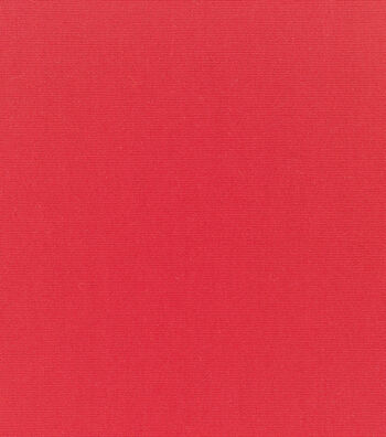 "Sunbrella Outdoor Solid Canvas Fabric 54""-Logo Red"