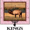 Quilt Kit-Kings Camo Elk Pink Borders by Riley Blake