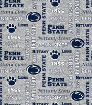 "Penn State University Nittany Lions Fleece Fabric 58""-Heather, , hi-res"