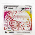 Carabelle Studio Gel Plate & Rubber Texture Plate Kit-Nature Is Emering