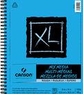Canson XL 9\u0027\u0027x12\u0027\u0027 50 Sheets Spiral Mix Media Rough Pad