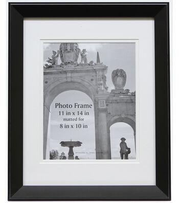 BP Industries Portrait Photo Frame 11''x14''-Black