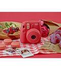 Fujifilm Instax Mini 8 Instant Camera, Raspberry