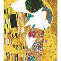 Diamond Embroidery Facet Art Kit 31.5\u0022X25\u0022-The Kiss (Klimpt)