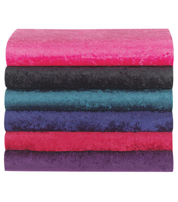 Glitterbug Crushed Panne Velvet Fabric 58''