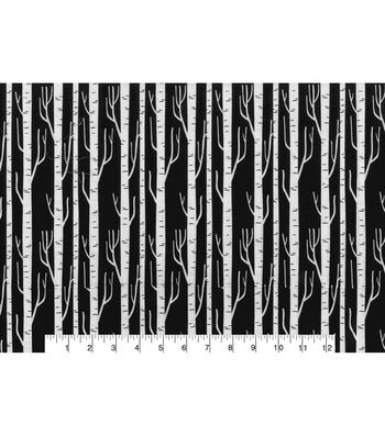Keepsake Callico Cotton Fabric-Birch Black