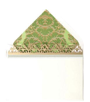 Anna Griffin Green Corr Card