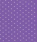 Quilter\u0027s Showcase Cotton Fabric -Aspirin Dots on Purple