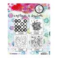 Art By Marlene Background Cling Stamp-Geometric