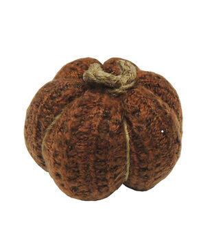 Simply Autumn Small Sweater Cable Pumpkin-Orange
