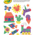 Crayola 48-sheet 9\u0027\u0027x12\u0027\u0027 Construction Paper Shapes