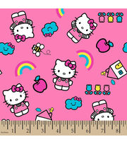 "Hello Kitty Flannel Fabric 42""-Icons, , hi-res"