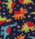 Blizzard Fleece Fabric -Super Dinos