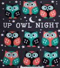 No Sew Fleece Throw Kit 48\u0027\u0027-Up Owl Night