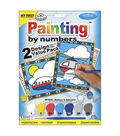 My First Paint By Number Value Kits-2PK/Airplane & Helicopter