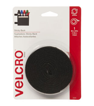 VELCRO Brand 0.75'' x 5' Sticky Back Fastener