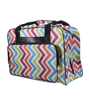 Janome Universal Durable Sewing Machine Tote-Chevron