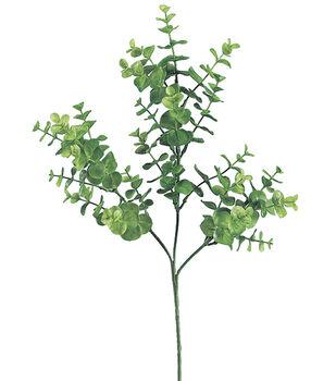 "Bloom Room 25"" Eucalyptus Spray-Green"