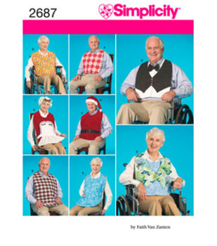 Simplicity Pattern 2687OS One Size -Simplicity Crafts