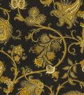 Home Decor 8\u0022x8\u0022 Fabric Swatch-Waverly Tennyson Onyx