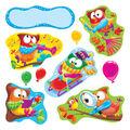 TREND enterprises, Inc. Owl-Stars! Characters Bulletin Board Set, 2 Sets