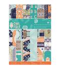 Papermania Owl Folk Ultimate A4 Die-Cuts & Paper Pack