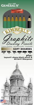 Graphite Pencil Kit Soft Degrees